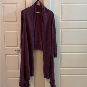 Moda EUC cotton/cashmere Convertible wrap sweater